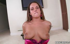 Staggering mature Krystal Main gives an outstanding oral-stimulation and gets doggy styled