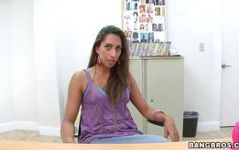 Tasty Giselle is avid to ride her lover