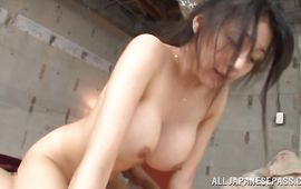 Palatable cougar Miki Ichiki wanna ride it forever