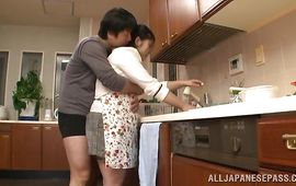 Voluptuous gal and her man get drilled