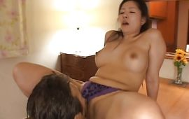 Wanton Ayane Asakura with attractive tits has a penis stuck in her cuchy